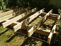Shed Floor Plan : Placing and Fixing the Intermediate Joists