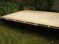 Shed Floor Plan : Skids