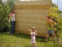Shed Floor Plan : Standing the floor Upright