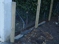 Sliding Gate : Putting in the Fence Posts