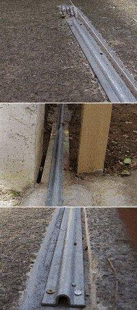 Sliding Gate : Installing the Track