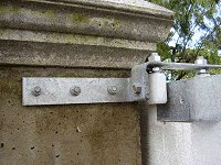 Sliding Gate : Fitting the Latch and Guide Rollers