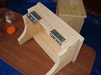 Step Stool : Fit the Hinges