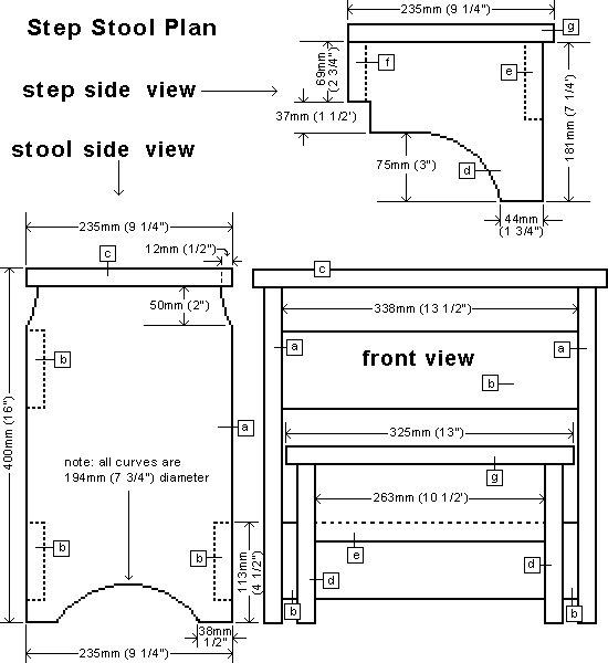 step stool plan