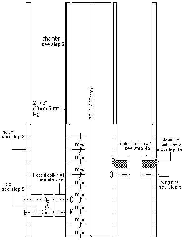 Stilts Plan Drawing