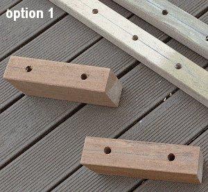 Stilts : Footrest Option 1