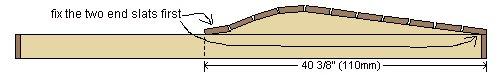 Sun Lounge Plan : Fixing the Front Slats 3