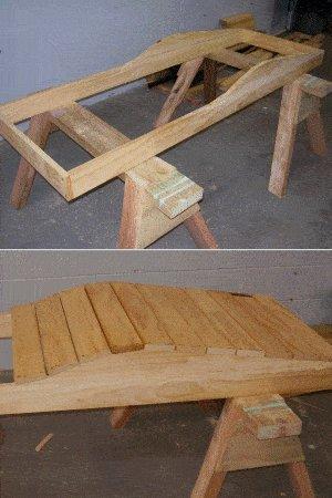 Sun Lounge Plan : Fixing the Front Slats