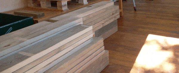 Tardis Plan : cut the frame pieces to lenght