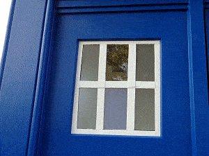 Tardis plan : window