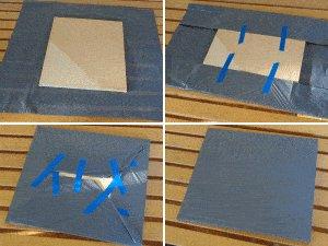 Tardis plan : make the window