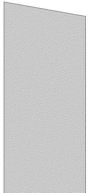 Bench Seat Plan : 10 Degree Angle Pattern