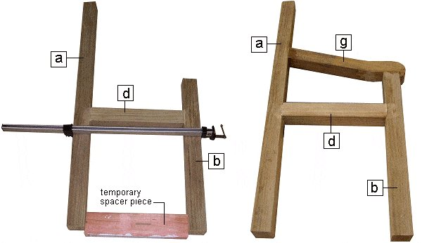 throne frame side