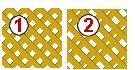 Lattice : Trellis Diagonal