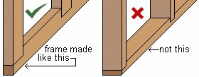 8x7 Tudor-Style Garden Shed Plan : Member Placing