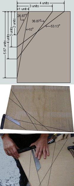8x7 Tudor-Style Garden Shed Plan : Help Angle