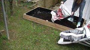 Veggie Box :  Fill the Box with Garden Soil