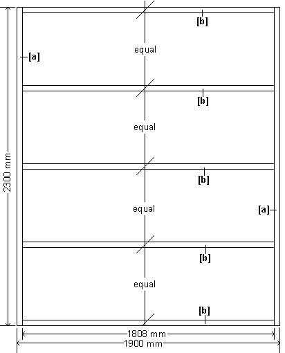 Wendy House Floor Plan : Metric Version