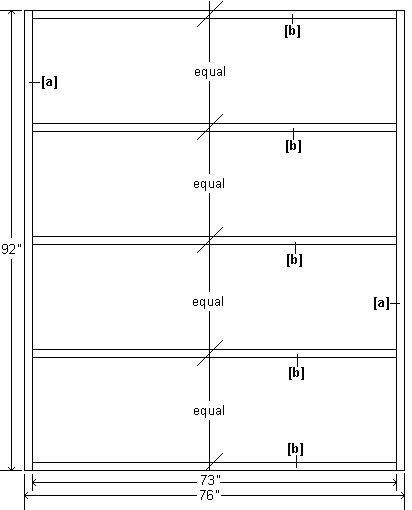 Wendy House Floor Plan : Imperial Version