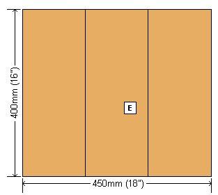 Wheelbarrow Planter Plan : Base