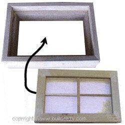 Playhouse Plans :  Window Install Assemble