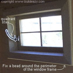 Playhouse Plans : Window Install Inside