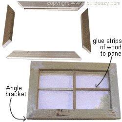 Playhouse Plans :  Window Sash